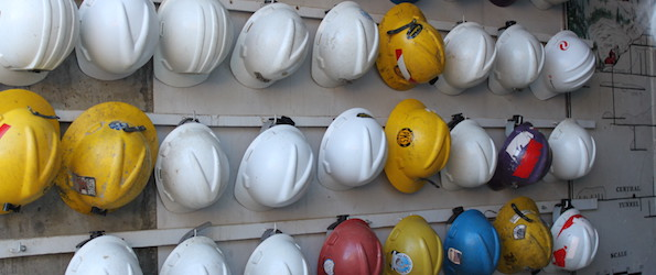 Head Injury claims illustrated by Hard Hats by Michelllaurence under creative commons licence