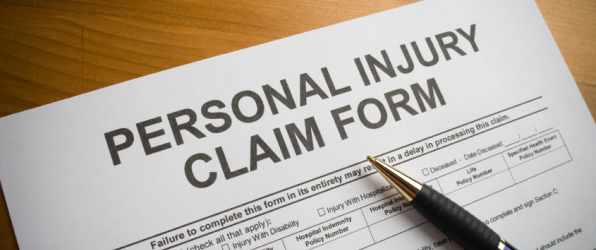 PIAB Injuries Board Claim Form illustration